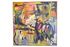 Midcentury Painting by Etta Deikman