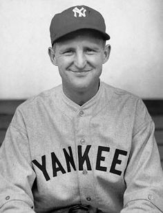 Herb Pennock,  never heard of this Yankee, just liked his demeanor.
