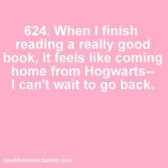 I gotta get back to Hogwarts....