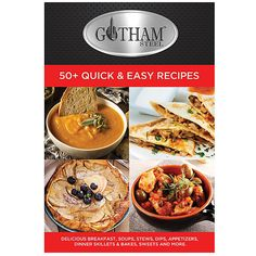 Improvements Gotham Steel Cookbook (535 RUB) ❤ liked on Polyvore featuring home, kitchen & dining, cookbooks, books, cook book, cookbook, cooking, gotham steel cookbook, recipe book and recipes