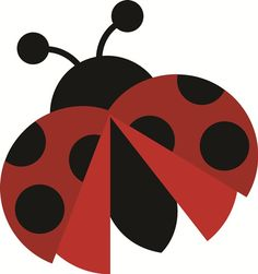 Ladybug SVG file for scrapbooking cardmaking free svg files free svg cuts cute… Ladybug Crafts, Ladybug Party, Applique Patterns, Applique Designs, Lady Bug, Cute Clipart, Love Bugs, Svg Cuts, Cute Art