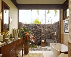 Decor Salteado - Blog de Decoração e Arquitetura : Banheiros/lavabos com jardins de inverno e verticais – veja modelos e dicas!
