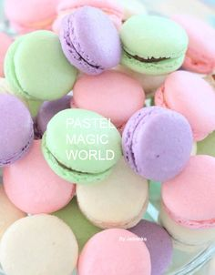 Pretty Pastel, Food Art, Goodies, Cupcakes, Magic, Beauty, Sweet Like Candy, Gummi Candy, Cup Cakes