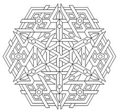 mandala+coloring+pages | Geometric Mandala Coloring Pages Pictures ...