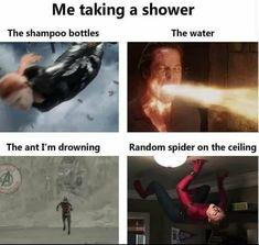 Marvel Jokes, Funny Marvel Memes, Avengers Memes, Dankest Memes, True Memes, Really Funny Memes, Stupid Funny Memes, Funny Laugh, Funny Relatable Memes