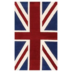Union Jack Rug from the Rug Market
