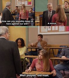 Feeny knows his students so well!