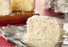 Experimente o bolo gelado de coco embrulhado em papel-alumínio