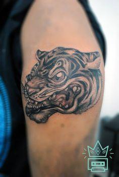 #tattoo #tatuaje #tigre #tiger