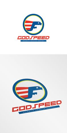 Check out Godspeed Priority Couriers Logo by patrimonio on Creative Market