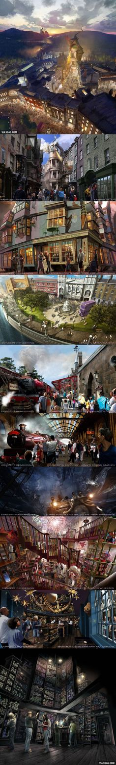 Magical First Look at Harry Potter World's Diagon Alley