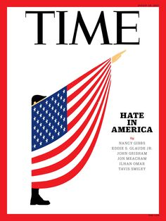 Major magazine covers address race hate in America