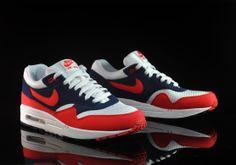 Nike Air Max 1 Navi/Red