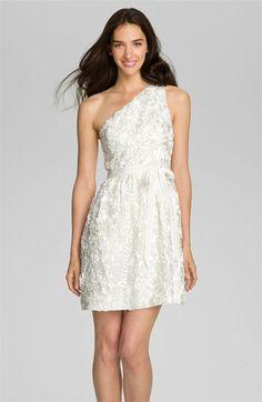 Jill Stuart One Shoulder Soutache Tulle Dress @Nordstrom #WeddingSuite #Nordstrom