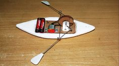 Simple toy rowing boat tutorial by Saurav Chakraborty via instructables Here is an easy way to make your own toy rowing boat. A very simple mechanical structure powered by a DC motor and two batter…