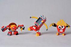 Challenge LEGO Mixels The Good Eatz