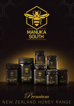 Manuka South Premium Honey Range: http://www.nzhealthfood.com/brand/manuka-southr.html