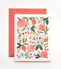 blooming mother's day card from rifle paper co.