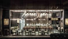 """Name: AMMO Restaurant + Bar • Year: 2009 • Architects: Todd Williams and Billie Tsien • Designer: Joyce Wang • Location: Hong Kong • Description: """"Built by the British army in the mid-19th century, the former explosives magazine compound is a culturally and historically significant site."""" — """"AMMO Restaurant + Bar"""", Joyce Wang (Retrieved: 12 June, 2012)"""