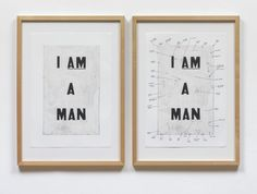 Glenn Ligon 'Condition Report', 2000 © Glenn Ligon; courtesy Thomas Dane Gallery, London