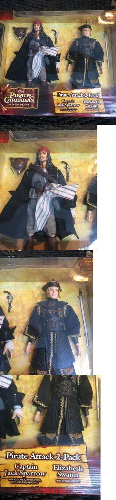 Pirates of the Caribbean 142334: Pirates Of The Caribbean 12 Figure Dolls Jack Sparrow Elizabeth Swann -> BUY IT NOW ONLY: $48 on eBay!