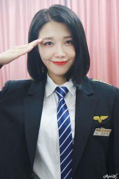 Kpop Girl Groups, Korean Girl Groups, Kpop Girls, Snsd, Eunji Apink, Pink Panda, Eun Ji, Women Ties, Cube Entertainment