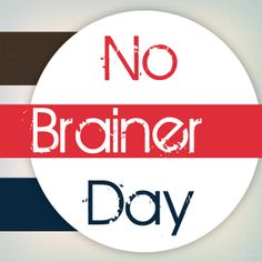 """#InterestingFacts:  The world celebrates No Brainer day today. The term denotes doing something that is simple and obvious. So today is the day to do all those """"no brainer"""" activities and tasks."""