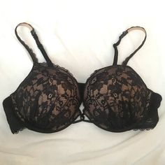 VS Miraculous Plunge Padded Bra Worn once. Perfect condition just as I bought it. This is the VS Miraculous Plunge bra, I believe was just like the first of the bombshell bras because I own a ton of the VS Bombshell bras and it has the exact same double padding/adds 2 cup sizes. Victoria's Secret Intimates & Sleepwear Bras