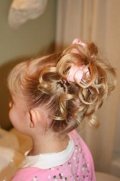 I did this hairstyle on my youngest today.  So cute--and EASY.  Such a great website