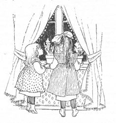 Coloring Books, Coloring Pages, Elsa Beskow, Art Template, Templates, Carl Larsson, Black And White Drawing, Art Drawings, Drawing Art