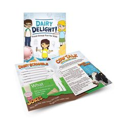 """+Save when ordering this set! Set includes 36 copies of each of the activity books. Each title is 8 ½"""" x 11"""", 8 pages, packaged in 3 sets of 12 For ages 7-11 Learning about the food groups and making healthy food choices can be both fun and educational for children with the Food Group Activity Book Classroom Set. This series of activity books offers challenging word and matching activities, writing and drawing prompts, recipes, trivia, and more that teach children how to make healthy choices fro Healthy Food Choices, Healthy Kids, Group Meals, Food Groups, Cow Tales, Nutrition Poster, Drawing Prompt, Classroom Setting, No Dairy Recipes"""