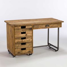 Keeler Office Desk with 5+1 drawers available online at Barker & Stonehouse. Browse our fabulous range today!