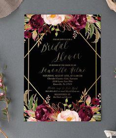 Best Ideas For Bridal Brunch Invitations Receptions Flowers Invitation, Invitation Fonts, Brunch Invitations, Invitation Envelopes, Bridal Shower Invitations, Printable Invitations, Invitation Ideas, Beach Bridal Showers, Wedding Cards