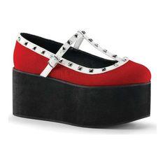 cd57f4dc6e Loading... Alternative ShoesT Strap ShoesWomen's HeelsShoes  SandalsEspadrillesGothic ShoesOxfordsVegan LeatherPunk Goth