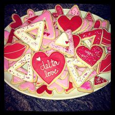 Tri Delta cookies