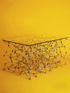 Molecular Table by Casamidy Inspired by a German science molecule model