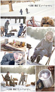 Snow Day | Lincoln NE Custom Children's Photography » Loni Mae's Photography