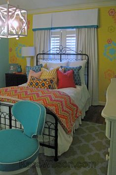 New teenager's room