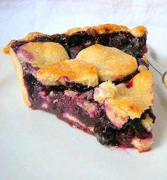 une gamine dans la cuisine: Blueberry Pie