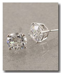 Audrey CZ Diamond Stud Earrings Classic and beautiful! Diamond Studs, Diamond Earrings, Stud Earrings, My Style, Classic, Beautiful, Jewelry, Fashion, Derby