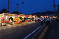 9月20日晴れ 今日は、放生会の始まりの日でした。これから5日間のお祭りです。