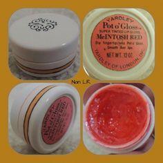 Yardley McINTOSH RED Pot o'Gloss Super Tinted Lip Gloss. Sold for $30 in 2015. Vintage Makeup, Vintage Vanity, Vintage Beauty, Perfume Ad, Vintage Perfume, Facial Cream, Lip Moisturizer, Childhood Toys, Vintage Vogue