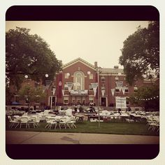 """the main green before campus dance!"" (via @angieocampo) #CampusDance #BrownReunion"