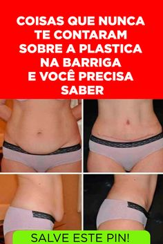 1d55825fe Cirurgia plástica na barriga  como funciona