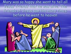 Use this simple version of the Easter story in the format of a PowerPoint presentation to teach younger children about Easter