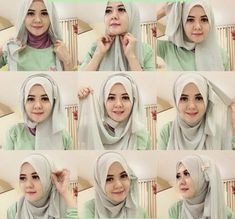 Hijab Tutorial simple and easy