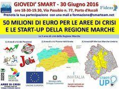 Giovedì Smart 30 giugno 2016 ore 18.30 (evento gratuito),Via Pasubio 77, Porto d 'Ascoli. Prenota con email a formazione@smarteam.net