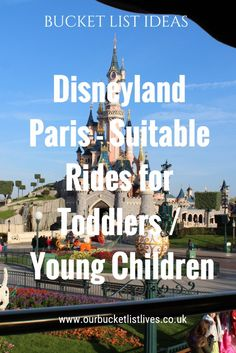 Disneyland Paris – Full list of rides that are suitable for toddlers / younger children. Including Disney Studios Disneyland Paris – Full list of rides that are suitable for toddlers / younger children. Trips To Disneyland Paris, Disneyland California, Travel With Kids, Family Travel, Paris Tips, Disney Tips, Disney Planning, Disney Parks, Disney Stuff