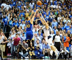 (04/2/2014): Stephen Curry had 23 points, 10 assists and hit the game-winner in the Golden State Warriors' 122-120 win over the Dallas Mavericks. #NBA #SLAMPOTD #SLAMMagazine #StephCurry