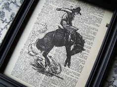 Great idea (not the horse!) for pictures copied on book page. gotta try it...